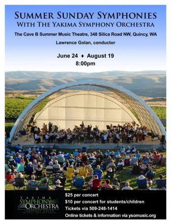 Summer Sunday Symphony tickets on sale now