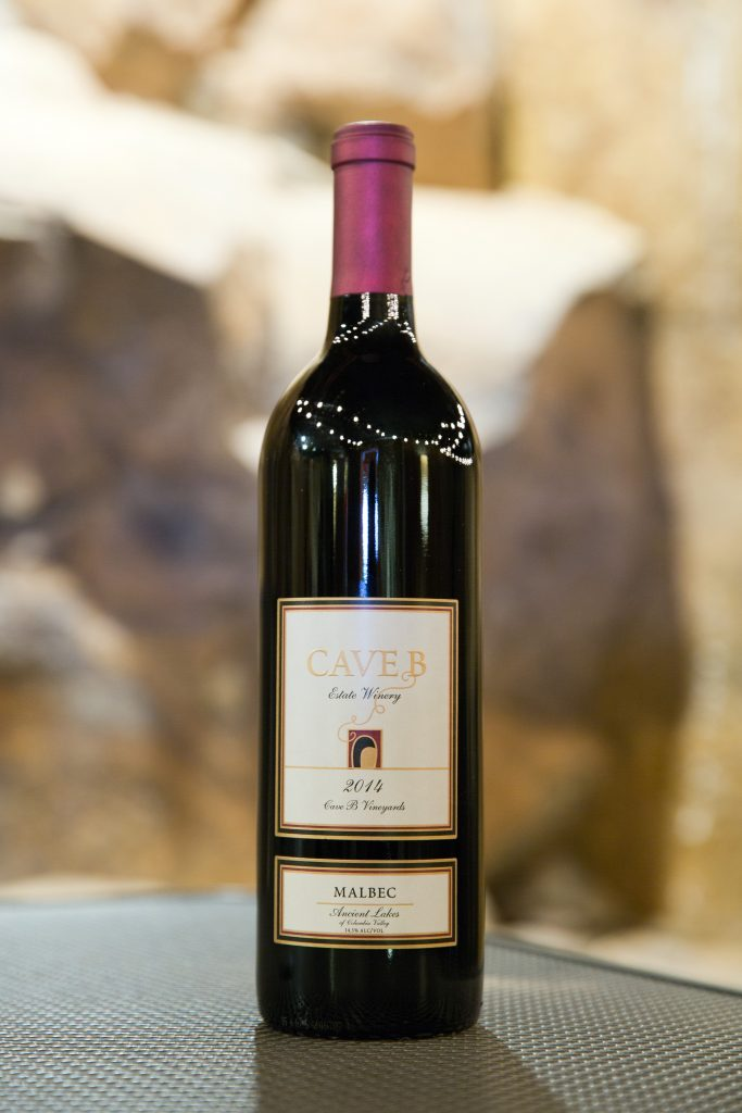 Click on the bottle to purchase your favorite Cave B wine or winery gift card today.