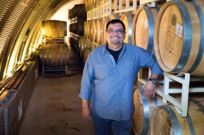 Cave B Winemaker Freddy Arredondo